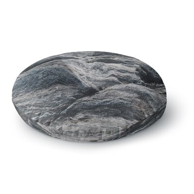 Will Wild 'Stone Landscape' Nature Round Floor Pillow Size: 26