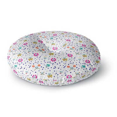 Yenty Jap Happy Skull Round Floor Pillow Size: 23 x 23