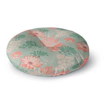 Zara Martina Mansen Wild Gatherings Round Floor Pillow Size: 26 x 26