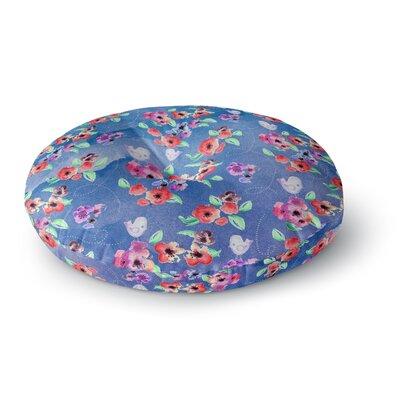 Zara Martina Mansen Signs of Spring Round Floor Pillow Size: 26 x 26