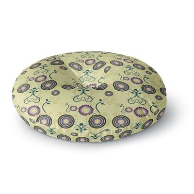 Mydeas Spring Floral Round Floor Pillow Size: 23 x 23