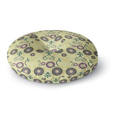 Mydeas Spring Floral Round Floor Pillow Size: 26 x 26
