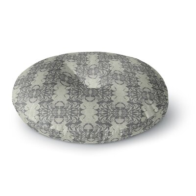 Mydeas Illusion Damask Round Floor Pillow Size: 26 x 26