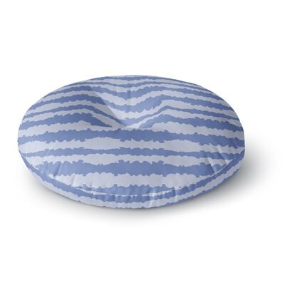 Mydeas Nautical Breeze - Ocean Ripple Round Floor Pillow Size: 23 x 23