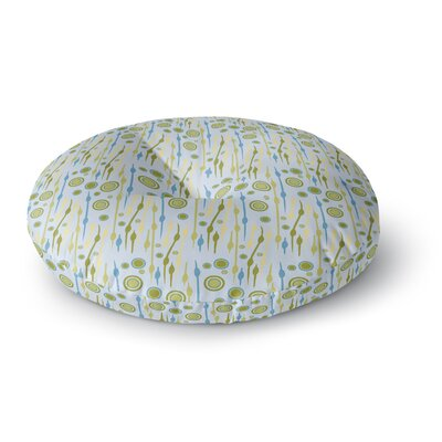 Mydeas Dot Whimsy Pattern Vector Round Floor Pillow Size: 26 x 26