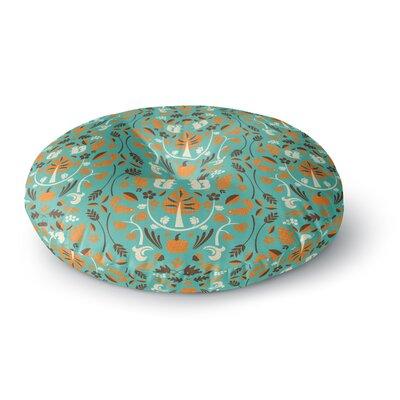 Allison Beilke Autumn Harvest Round Floor Pillow Size: 26 x 26