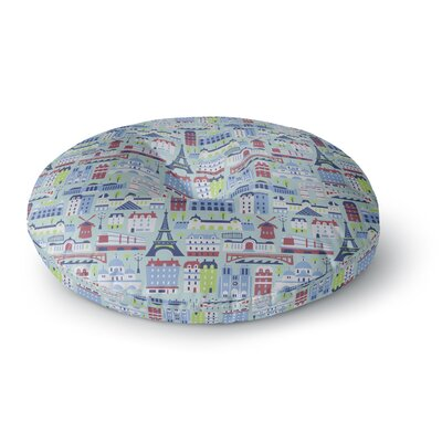 Allison Beilke JAdore Paris Round Floor Pillow Size: 23 x 23