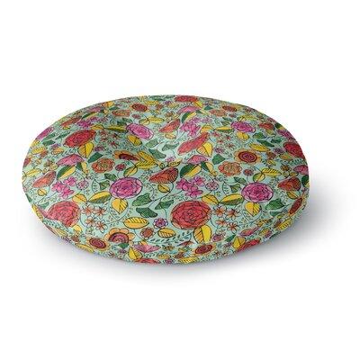 Allison Beilke Garden Variety Round Floor Pillow Size: 23 x 23