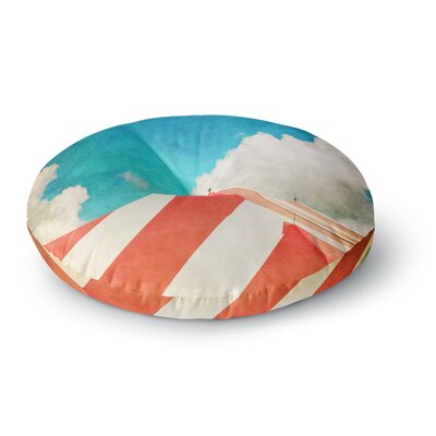Ann Barnes The Big Top Round Floor Pillow Size: 23 x 23