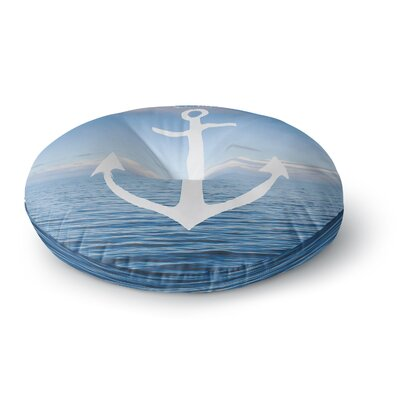 Ann Barnes Roam III Anchor Round Floor Pillow Size: 26 x 26