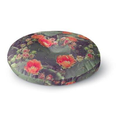 Ann Barnes Flamenco Round Floor Pillow Size: 26 x 26