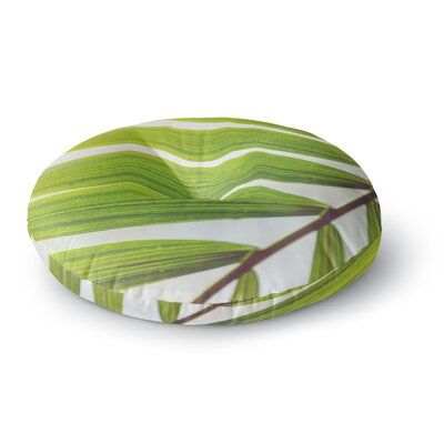 Ann Barnes Jungle Abstract Round Floor Pillow Size: 26 x 26