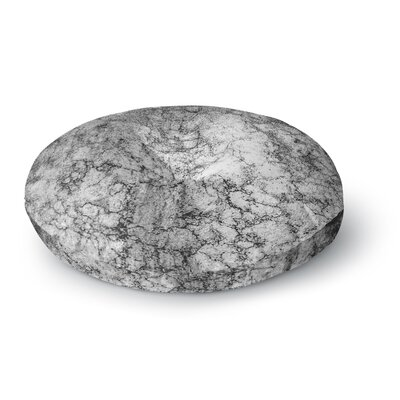 Ann Barnes Marble I Round Floor Pillow Size: 23 x 23