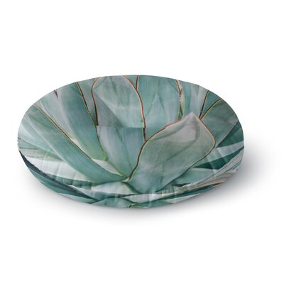 Ann Barnes Agave Abstract Photography Round Floor Pillow Size: 26 x 26