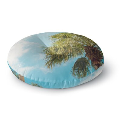 Ann Barnes Here Comes The Sun Photography Round Floor Pillow Size: 26 x 26