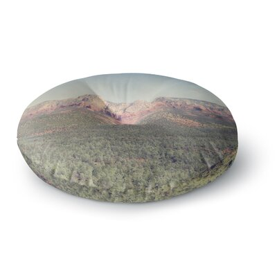 Ann Barnes Sedona Skies Photography Round Floor Pillow Size: 23 x 23