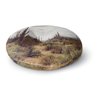 Ann Barnes Arizona Skies Photography Round Floor Pillow Size: 26 x 26