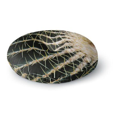 Ann Barnes Barrel Cactus Photography Round Floor Pillow Size: 26 x 26