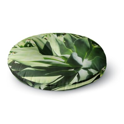 Ann Barnes Agave Forest Photography Round Floor Pillow Size: 26 x 26