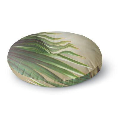 Ann Barnes Evening in The Tropics Photography Round Floor Pillow Size: 26 x 26