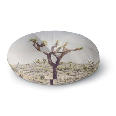 Ann Barnes Joshua Tree Photography Round Floor Pillow Size: 23 x 23