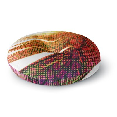 Alison Coxon Feather Pop Round Floor Pillow Size: 23 x 23