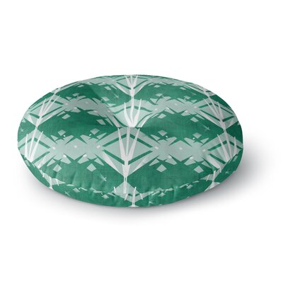 Alison Coxon Diamond Round Floor Pillow Size: 26 x 26