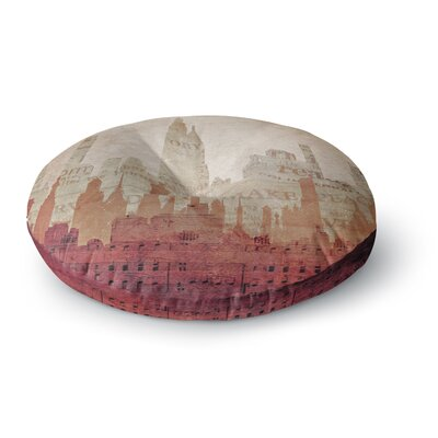 Alison Coxon City Round Floor Pillow Size: 23 x 23