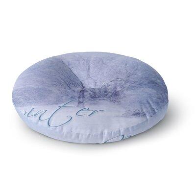 Alison Coxon Winter Tree Round Floor Pillow Size: 23 x 23