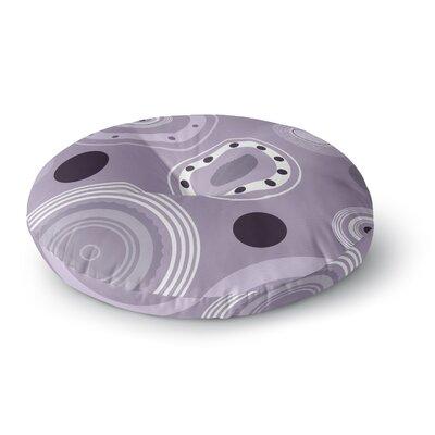 Alison Coxon Circles Round Floor Pillow Size: 26 x 26