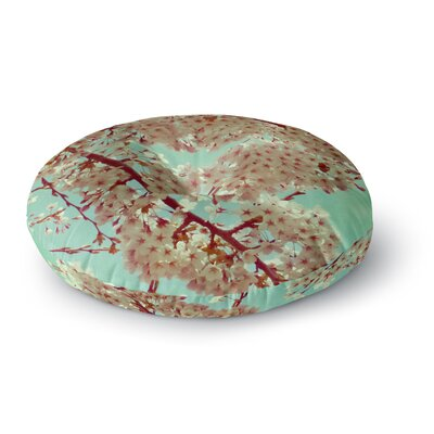 Alison Coxon April Floral Round Floor Pillow Size: 26 x 26
