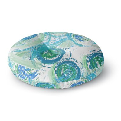Alison Coxon Sophia Round Floor Pillow Size: 26 x 26, Color: Blue/Green