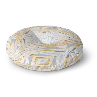 Alison Coxon Planthouse Saffron Round Floor Pillow Size: 26 x 26, Color: Coral