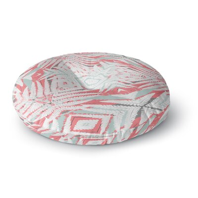 Alison Coxon Planthouse Saffron Round Floor Pillow Size: 23 x 23, Color: Yellow