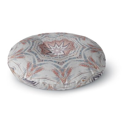 Alison Coxon Boho Dream Round Floor Pillow Size: 23 x 23, Color: Brown