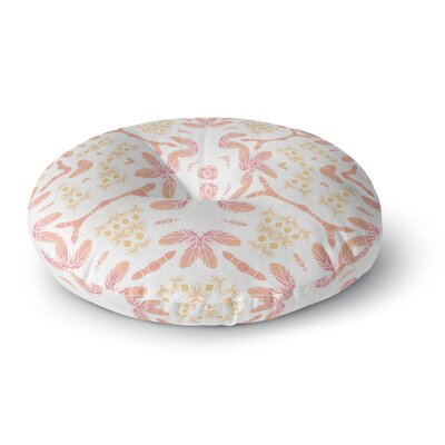 Alison Coxon Aztec Feather Round Floor Pillow Size: 23 x 23