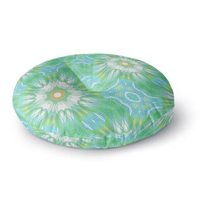 Alison Coxon Fresh Daisy Round Floor Pillow Size: 26 x 26