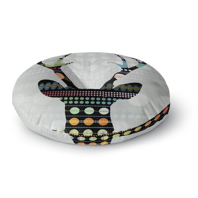 Angelo Cerantola Pop Deer Round Floor Pillow Size: 26 x 26