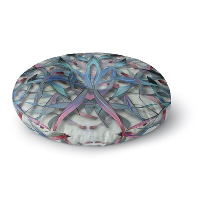 Angelo Cerantola Wax and Wayne Digital Round Floor Pillow Size: 23 x 23
