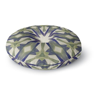 Angelo Cerantola Lymph Geometric Modern Round Floor Pillow Size: 23 x 23