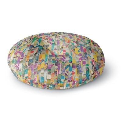 Angelo Cerantola Feel It Pattern Round Floor Pillow Size: 26 x 26