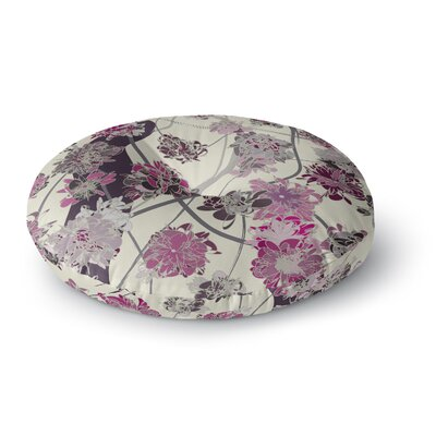 Angelo Cerantola Springtime Again Floral Round Floor Pillow Size: 26