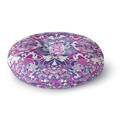 Angelo Cerantola Tribe Digital Round Floor Pillow Size: 26 x 26