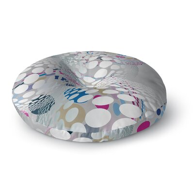 Angelo Cerantola Bubbly Illustration Round Floor Pillow Size: 23 x 23