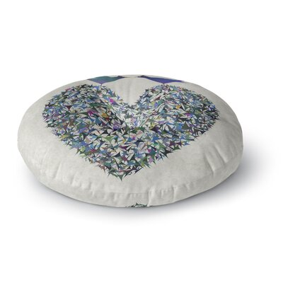 Angelo Cerantola Our Love Illustration Round Floor Pillow Size: 26 x 26