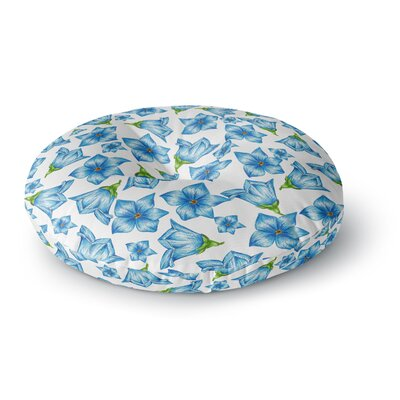 Alisa Drukman Flowers Round Floor Pillow Size: 23 x 23