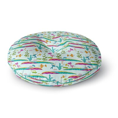 Alisa Drukman Under Sea Round Floor Pillow Size: 26 x 26