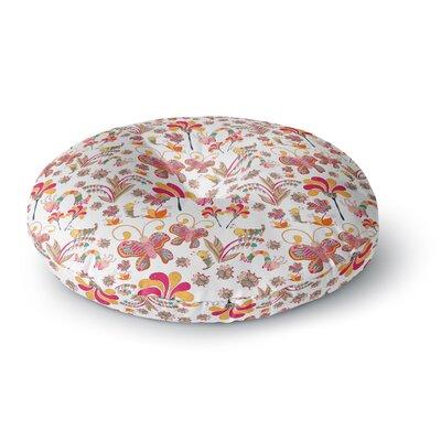 Alisa Drukman Fairy Forest Round Floor Pillow Size: 26 x 26