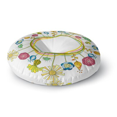 Alisa Drukman Flo Round Floor Pillow Size: 26 x 26