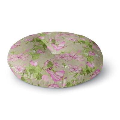 Alisa Drukman Romantic Round Floor Pillow Size: 23 x 23